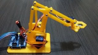 Robot Kol Projesi Arduino
