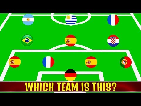 Which team is this? (Part 1) ⚽ Football Quiz 2018