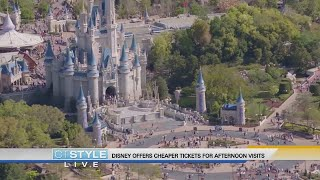 Today's Dish: Disney offering cheaper tickets