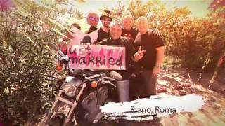 Свадебная вечеринка в стиле рок. Риано, Италия
