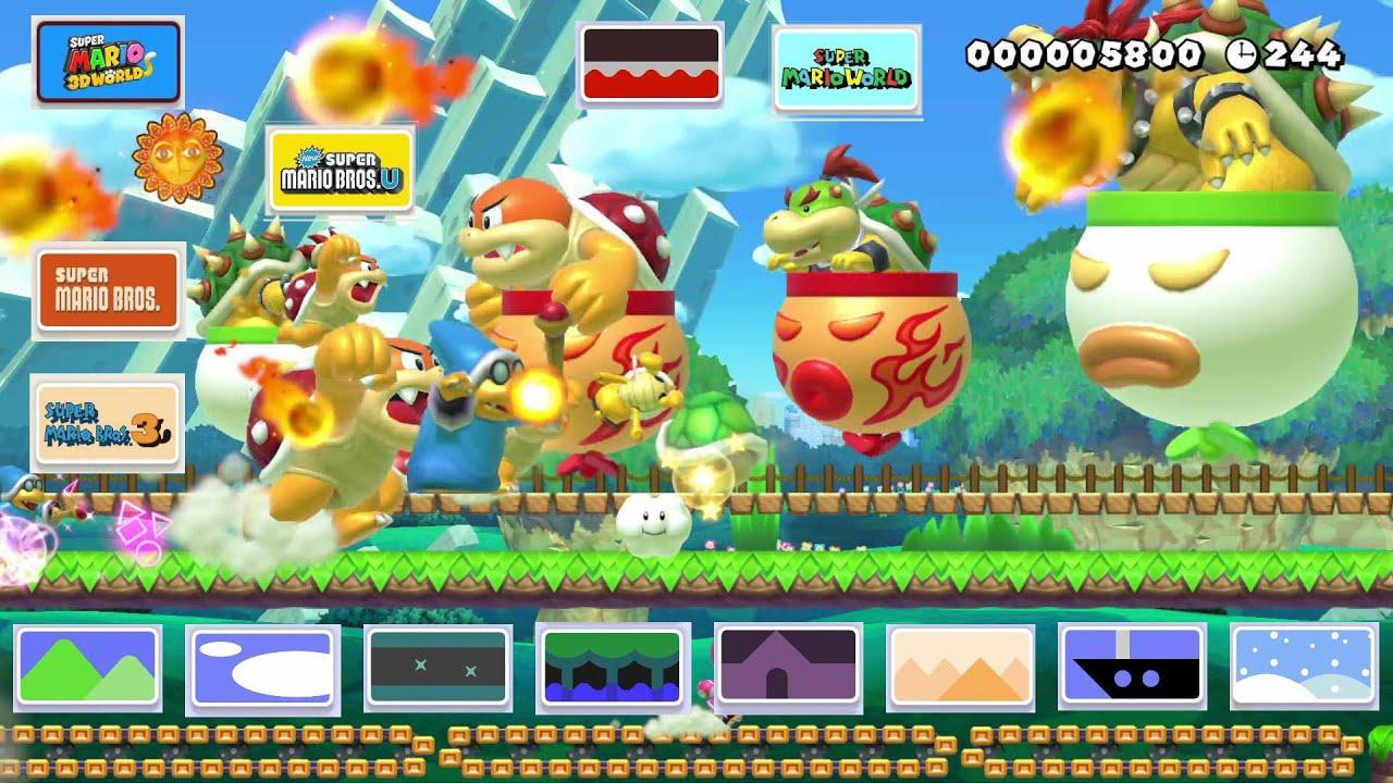 Super Mario Maker 2 All Enemies Youtube