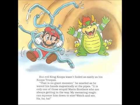 Super Mario Trapped In The Perilous Pit