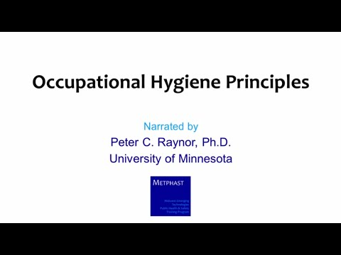 Module 1: Occupational Hygiene Principles