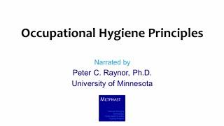 Module 1: Occupational Hygiene Principles