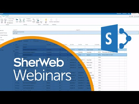 Task management made simple with SharePoint   SherWeb Webinars