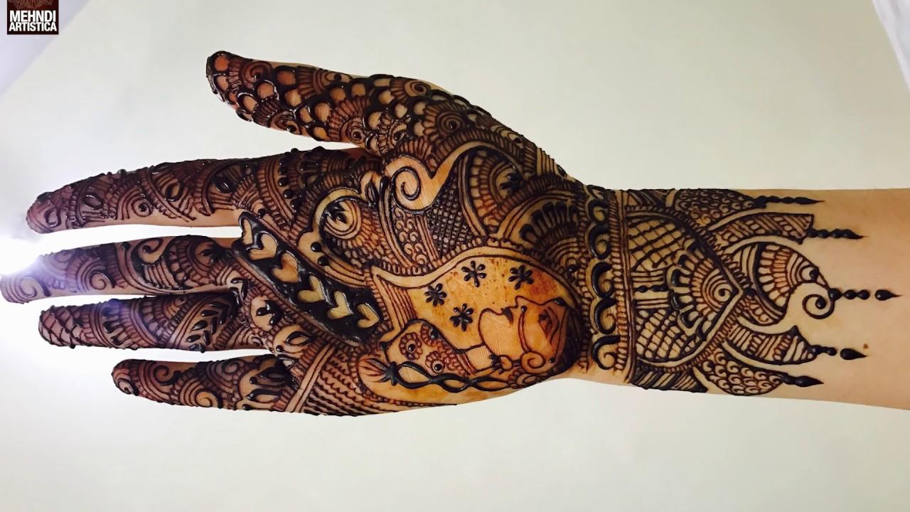 Mehndi design 2017 dulhan - Beautiful Wrist Mehndi Design For Bride Dulhan Style Mehendi