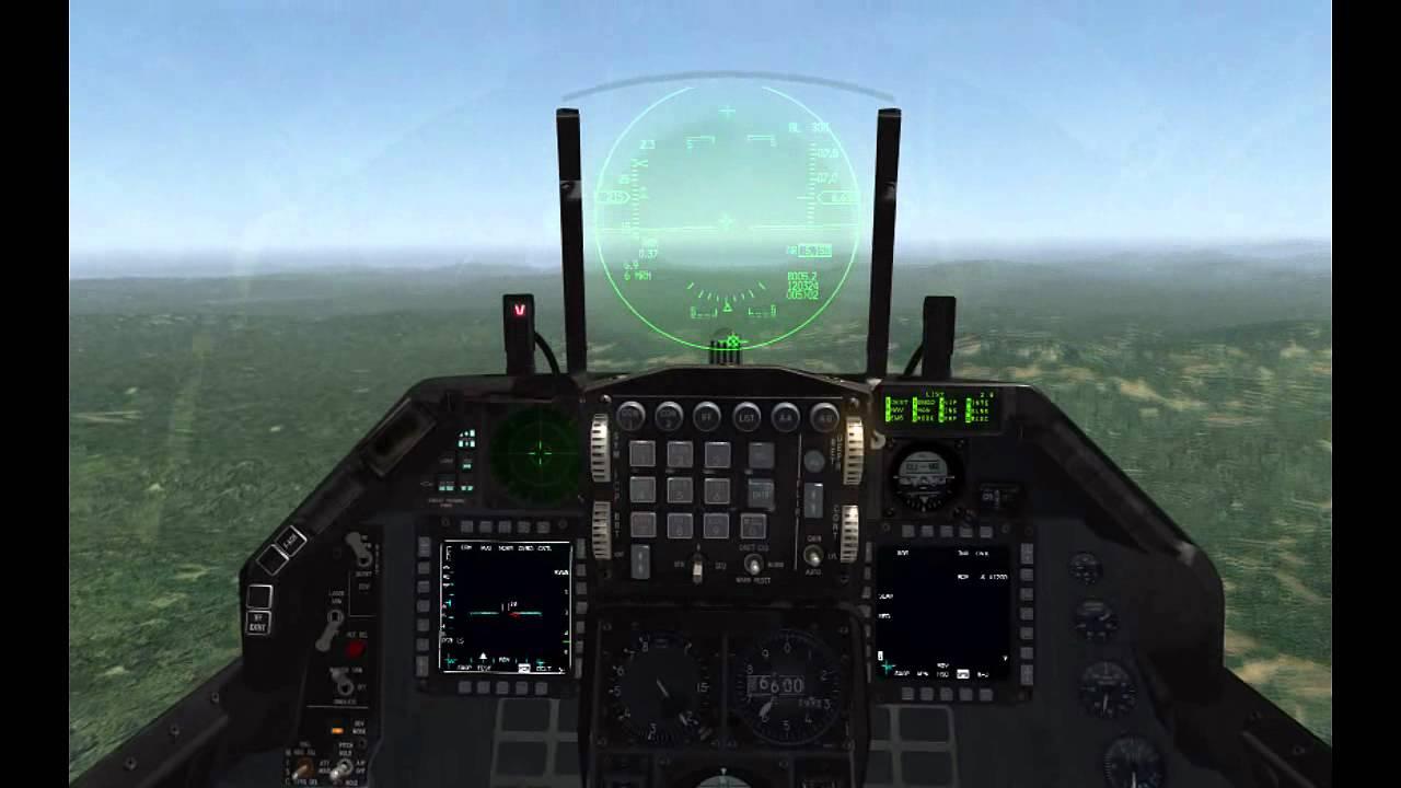 Falcon 4 BMS 3D Cockpit