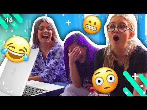 REACTING TO OLD VIDEOS! *CRINGE ALERT*  (EPISODE 16)