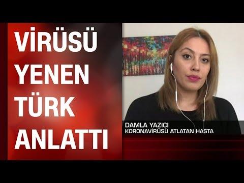 Koronavirüsü Yenen Türk Hasta Canlı Yayında Anlattı