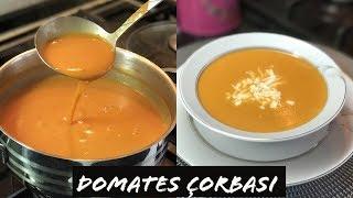 Domates Çorbası Tarifi - Naciye Kesici - Yemek Tarifleri