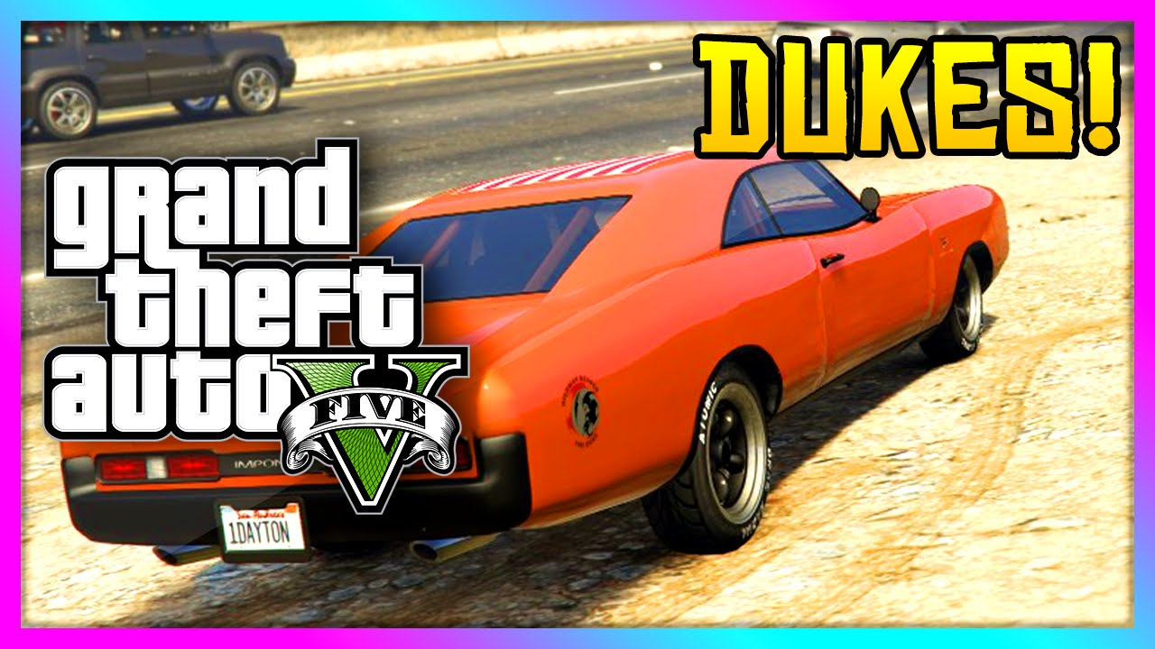 Gta 5 Xbox One New Imponte Dukes Classic Gta Muscle Car Gta V