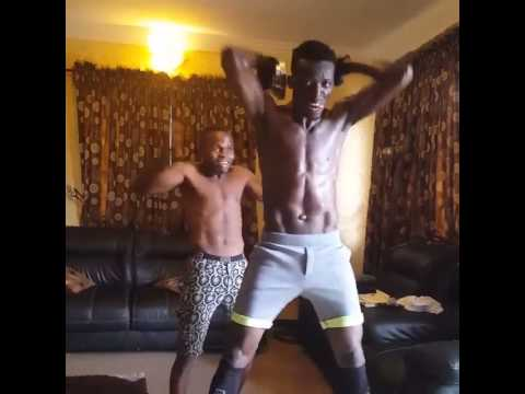 Video: Random Video of Akpororo Dancing, Gyming & Challenging Iyanya at The Same Time
