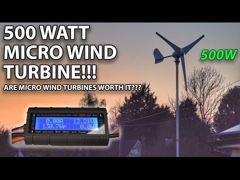500W MICRO WIND TURBINE | IS IT WORTH IT??!!