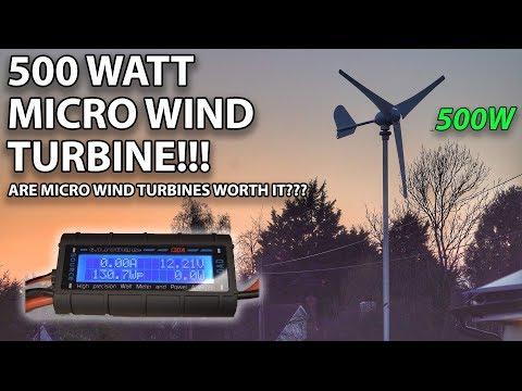 500W MICRO WIND TURBINE | IS IT WORTH IT??!!
