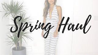 Spring Haul & Try On | Revolve, H&M, Zara & More