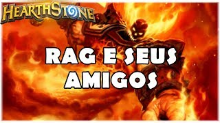 HEARTHSTONE - RAG E SEUS AMIGOS! (WILD RESURRECT PRIEST)