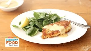 Parmesan Crusted Chicken Recipe - Everyday Food With Sarah Carey