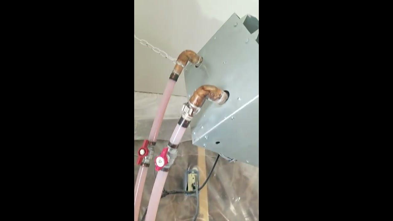Water To Air Heat Exchanger Hydronic Boiler Shop Garage