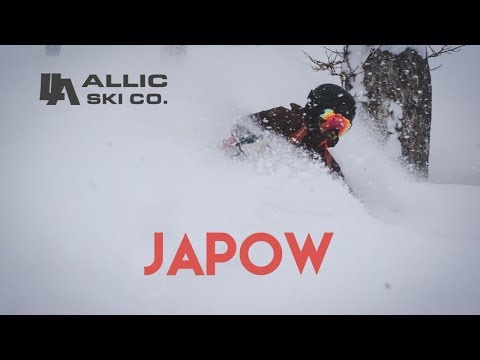 JAPOW - POWDER SKIING IN JAPAN