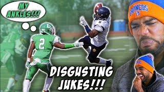 This Running Back Has The *SICKEST* and *COLDEST* Jukes!!!- Martell Irby Highlights [Reaction]
