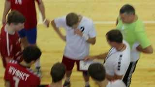 Тренировка саратовских гандболистов