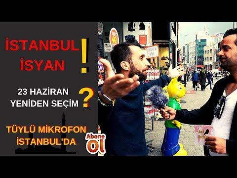 YSK İstanbul'u İPTAL Etti 23 Haziran Seçimi için Vatandaşın Görüşleri...
