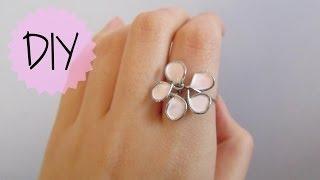 DIY: Flower Wire Ring