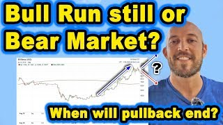 🔵 Bull Run Still or Bear Market? Is price going up or down from here? When Will Pullback End?