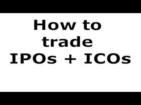 How To Trade IPO's & ICO's - #605