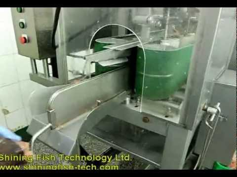 Fish filleting machine big youtube for Fish fillet machine