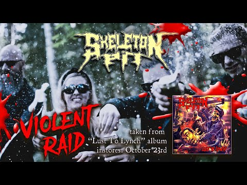 SKELETON PIT - Violent Raid (official video)