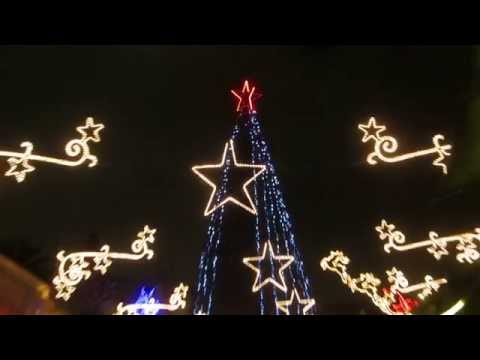 A Christmas tree in the Christian Quarter (near the New Gate of the Old City of Jerusalem)
