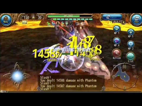 Arewzo New Dual Sword Phantom Slash and Charging Slash Best Spam DPS Lv 150 Build - Toram Online