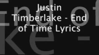 justin-timberlake-until-the-end-of-time-lyrics