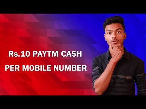 Free Paytm Cash Loot & Trick !!