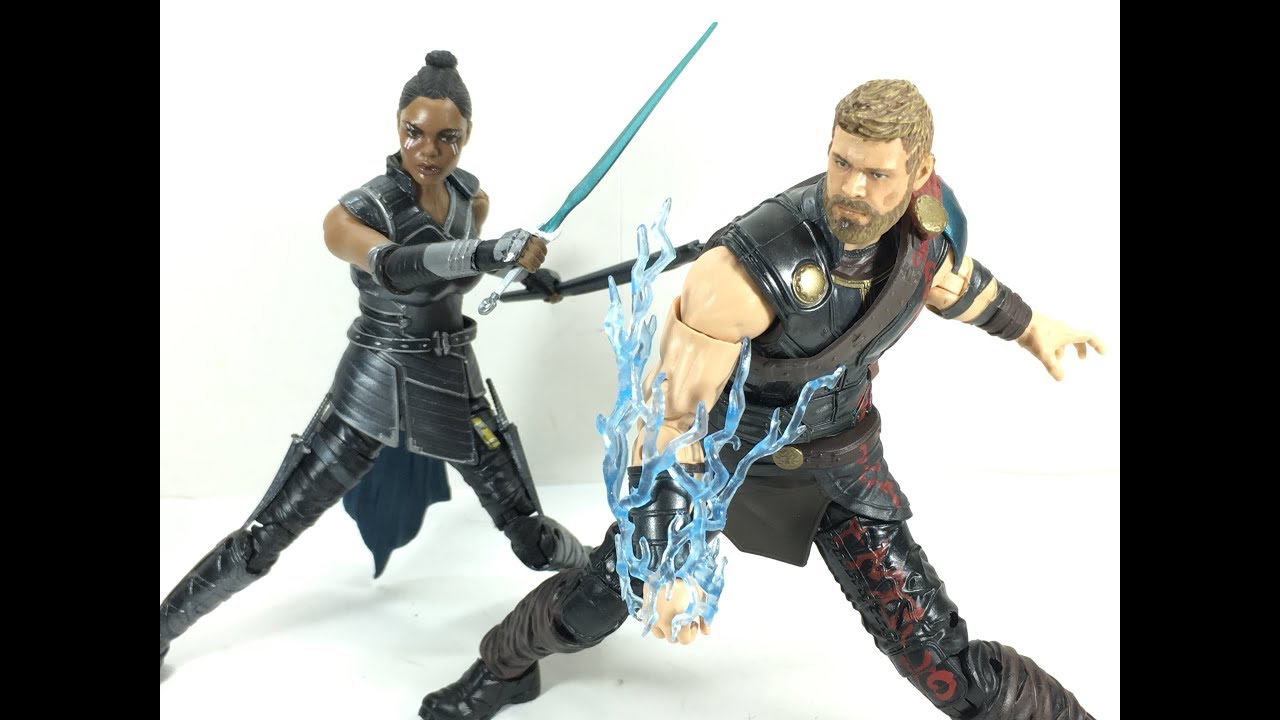 marvel legends thor ragnarok 2 pack thor and valkyrie chefatron toy
