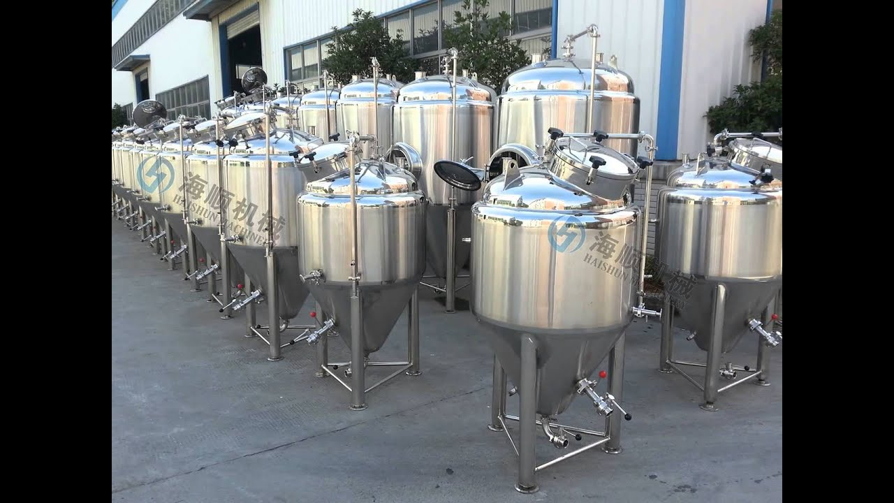 Bbl Beer Stainless Steel Brewing Equipment Fermentation