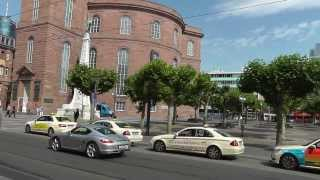 Frankfurt: Das erste Parlament - die Paulskirche. The first Parliament - St. Paul