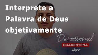 Devocional de Quarentena - 29/06 | Diogo Barbosa