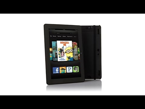 Kindle Fire HDX 8.9 QuadCore 16GB Tablet with Keyboard C...