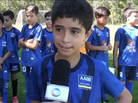 Escolinha de futebol da AABB