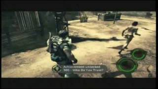 Resident Evil 5 - Who Do You Trust? Achievement Guide w/ Commentary