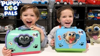 Puppy Dog Pals Pet Crate Playset | Bingo and Rolly Visits Pet Vet for a Bath and Grooming!