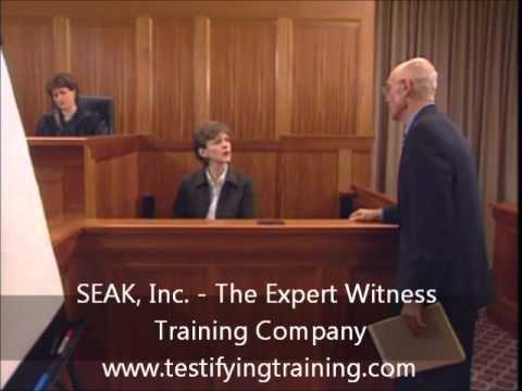 Cross Examination of Expert in Medical Malpractice Case