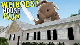 FLIPPING THE EVIL BUNNY HOUSE! Weirdest House Flip - House Flipper Beta Gameplay