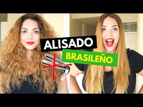 Me Hago El ALISADO BRASILEÑO En Casa ¿FUNCIONA? 😍 De RIZADO A LISO | Pretty And Olé