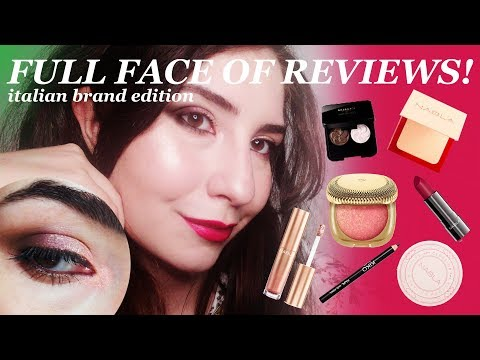 Full Face (almost) of Reviews! | Nabla Denude, Nabla Closeup, Kiko Milano