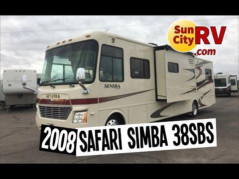 Safari Simba 38SBS For Sale Phoenix RV 2008   Sun City RV