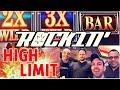 👬👬 Friends ROCKIN' 🎸 the HIGH LIMIT for 30 Minutes!! ✦ Slot Machine Pokies at San Manuel Casino