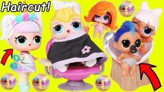 Unicorn LOL Surprise Dolls Hair Salon for McDonalds Toys R Us Lil Punk Boi Sisters Wedding JOJO SIWA